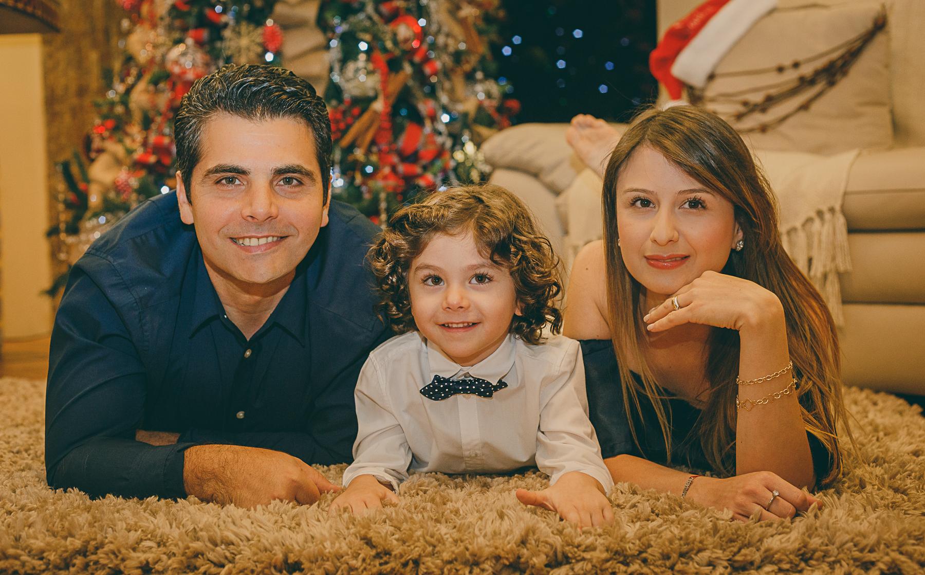 Familia Folchi Castro en sus navidades 2016
